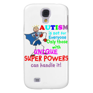 Unique Super Powers Autism Samsung Galaxy S4 Cover
