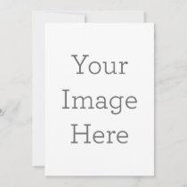 Unique Teacher Photo Invitation