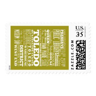 Unique Toledo, Ohio Gift Idea Stamps