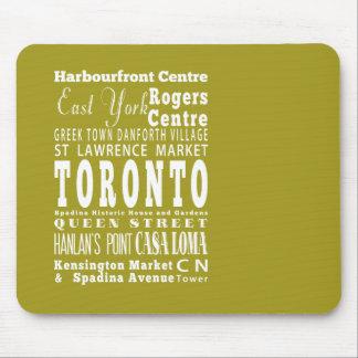 Unique Toronto, Ontario Gift Idea Mouse Pad