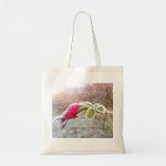Unique Tote Bag featuring beautiful Rosehip
