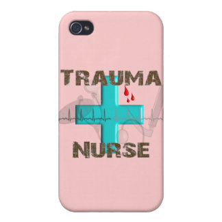 Unique Trauma Nurse T-Shirts and Gifts iPhone 4/4S Cover