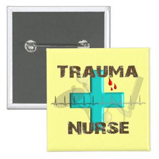 Unique Trauma Nurse T-Shirts and Gifts Pinback Button