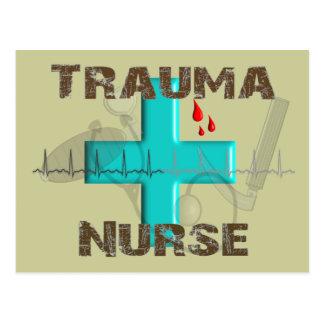 Unique Trauma Nurse T-Shirts and Gifts Postcard