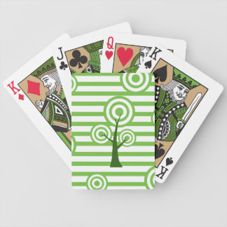 Unique Tree Art Playing Cards