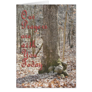 Unique Tree-customize Greeting Card