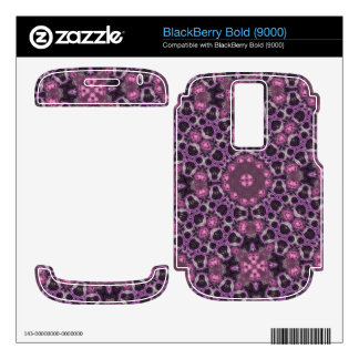 Unique trendy abstract pattern skins for BlackBerry