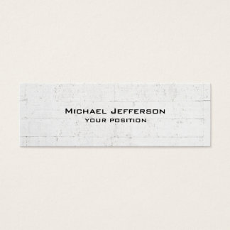 Unique Trendy Grey Wall Design Modern Mini Business Card
