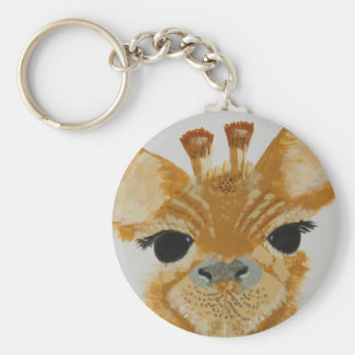 Unique Trendy Modern Eye Catching design Giraffe Keychain