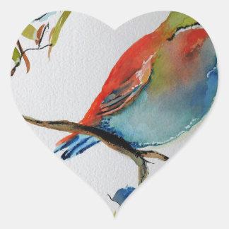 Unique Trendy Modern Eye Catching design Heart Sticker