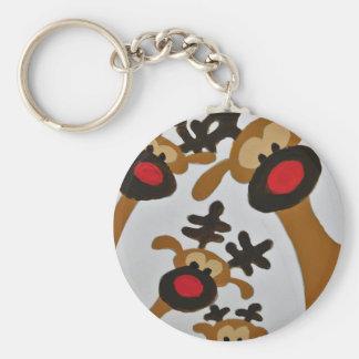 Unique Trendy Modern Eye Catching design Keychain