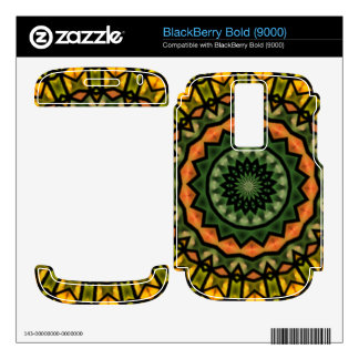 Unique trendy pattern BlackBerry bold 9000 skin