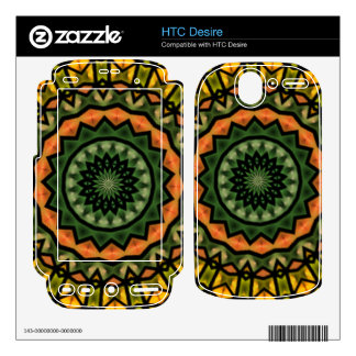Unique trendy pattern skins for HTC desire