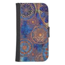 Unique Trendy Samsung S4 Wallet Case