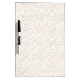 Unique unusual nice pattern dry erase board