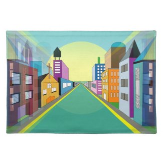 Unique Urban Art Placemats