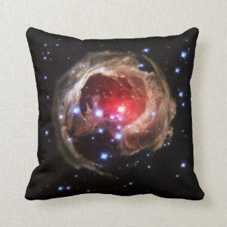 Unique variable star V838 Throw Pillow