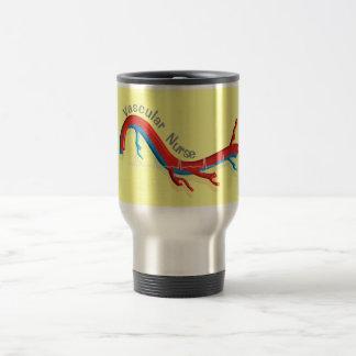 Unique Vascular Nurse Gifts 15 Oz Stainless Steel Travel Mug