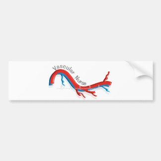 Unique Vascular Nurse Gifts Bumper Sticker
