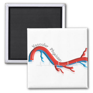 Unique Vascular Physician Gifts Magnet