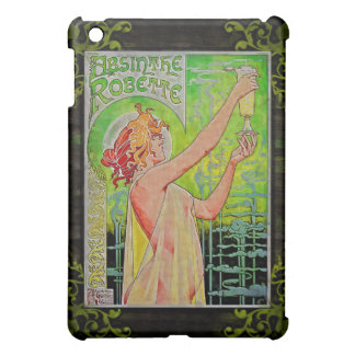 Unique Vintage Absinthe Green Fairy Case For The iPad Mini