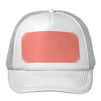 Unique Vintage Background. Retro Style Pink Color Trucker Hats