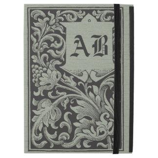 Unique Vintage Book Cover Monogram iPad Pro Case