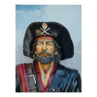 Unique vintage Pirate Poster
