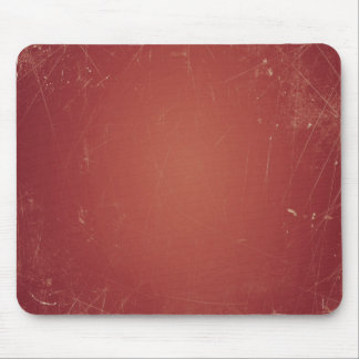 Unique Vintage Style Red Paper Shabby Grunge Color Mouse Pad