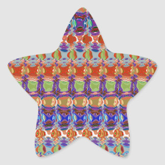 Unique Wave Pattern Lowprice  Party Giveaway gifts Star Sticker