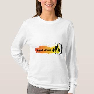 Unique Weight Lifting Logo T-Shirt