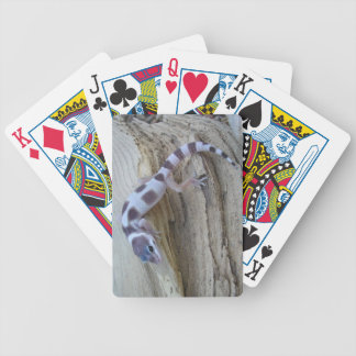 Unique White Leopard Gecko Playing Cards Deck