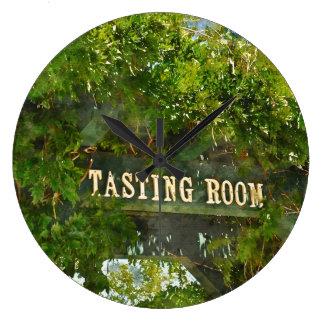 Unique Wine and Grape Clock for Home Decor.