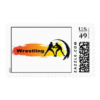 Unique Wrestling Emblem Postage