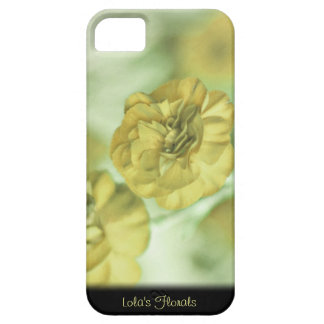 Unique Yellow Flowers Personalized iPhone 5 Case