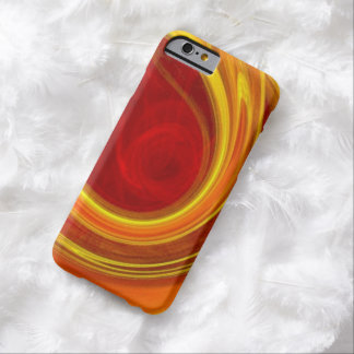 unique yellow marble sun rays laser lines ombre barely there iPhone 6 case
