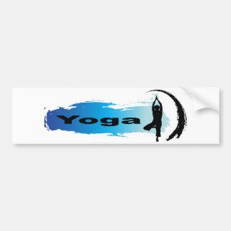 Unique Yoga Bumper Sticker
