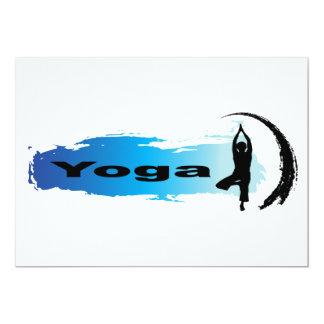 Unique Yoga Card