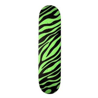 Unique Zebra Print Design Skateboard Deck