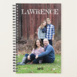 "Uniquely yours planner - personalize with a photo<br><div class=""desc"">5.5&quot; x 8.5&quot; Spiral Weekly/Monthly Planner with custom photo option on front and back,  along with personalized text,  too. This makes a great gift for a teacher,  mom,  student or bride!</div>"