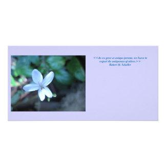 Uniqueness - Photo Card