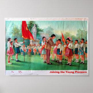 Unirse a a los pioneros de los jóvenes posters