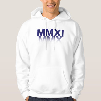 Unisex Adult New Year, Roman Numeral Hoodie