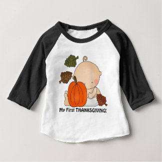 Unisex baby first Thanksgiving Holiday t-shirt