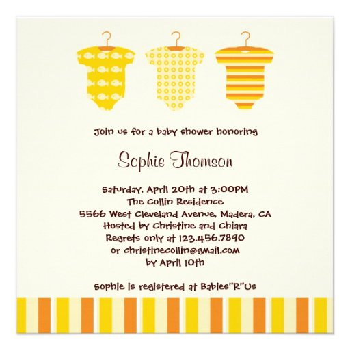 Neutral Baby Shower Invites was good invitation template