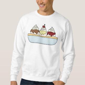 Unisex Banana Split Ice Cream Sundae Sweatshirt