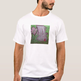 Unisex Basic T -Waterfall in the rainforest T-Shirt