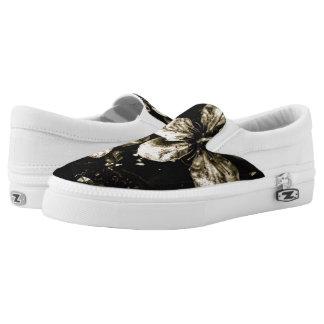 UNISEX BLACK Flower's Shoe