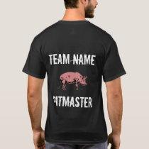 Unisex Custom BBQ Team Pitmaster t-shirt