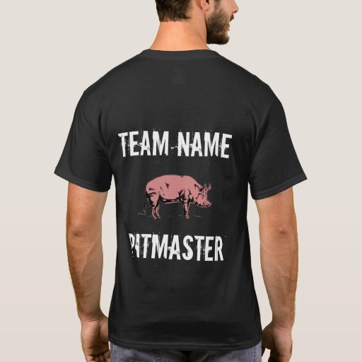 Unisex Custom BBQ Team Pitmaster t-shirt